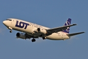 Boeing 737-400 - SP-LLF operated by LOT Polish Airlines