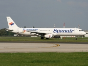 Airbus A321-231 - EC-INB operated by Spanair