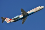 Fokker 100 - OE-LVD operated by Austrian arrows (Tyrolean Airways)