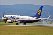 Boeing 737-800 - EI-DYH operated by Ryanair