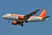 Airbus A319-111 - G-EZII operated by easyJet