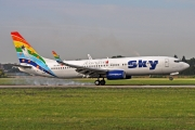Boeing 737-800 - TC-SKS operated by Sky Airlines