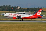 Airbus A320-214 - D-ABFO operated by Air Berlin