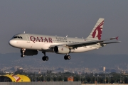 Airbus A320-232 - A7-AHQ operated by Qatar Airways