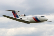 Yakovlev Yak-40 - OM-BYE operated by Letecký útvar MV SR (Slovak Government Flying Service)