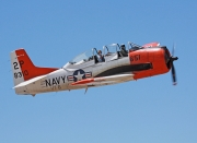North American T-28B Trojan - N393W operated by Private operator