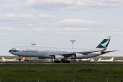 Airbus A340-313E - B-HXI operated by Cathay Pacific Airways