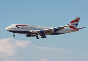 Boeing 747-400 - G-CIVT operated by British Airways