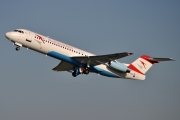 Fokker 100 - OE-LVK operated by Austrian arrows (Tyrolean Airways)