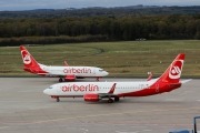 Boeing 737-800 - D-ABKC operated by Air Berlin