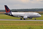 Airbus A319-112 - OO-SSD operated by Brussels Airlines