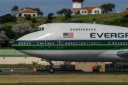 Boeing 747-200C - N470EV operated by Evergreen International Airlines