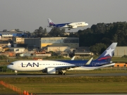 Boeing 767-300ER - CC-CZW operated by LAN