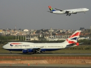 Boeing 747-400 - G-CIVF operated by British Airways