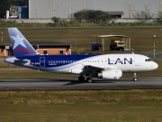Airbus A319-132 - CC-BCC operated by LAN