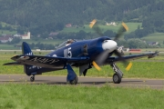 Hawker Sea Fury FB.11 - F-AZXJ operated by Private operator