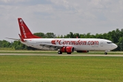 Boeing 737-800 - TC-TJN operated by Corendon Airlines