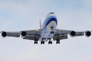 Boeing 747-400F - B-18717 operated by China Airlines Cargo