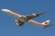 Airbus A340-313 - EC-GGS operated by Iberia