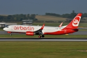 Boeing 737-800 - D-ABBJ operated by Air Berlin