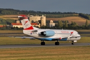 Fokker 70 - OE-LFQ operated by Austrian Airlines