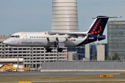 British Aerospace Avro RJ100 - OO-DWK operated by Brussels Airlines
