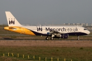 Airbus A320-212 - G-OZBB operated by Monarch Airlines