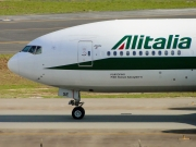 Boeing 777-200ER - I-DISE operated by Alitalia