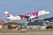 Airbus A320-232 - LZ-MDD operated by WOW air