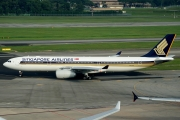 Airbus A330-343E - 9V-STR operated by Singapore Airlines