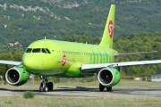 Airbus A319-114 - VP-BTS operated by S7 Airlines