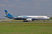 Airbus A330-343 - A4O-DE operated by Oman Air