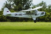 Piper J3C-65 Cub - OM-ABC operated by Private operator