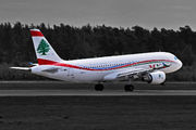 Airbus A320-214 - T7-MRC operated by Middle East Airlines (MEA)