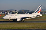 Airbus A318-111 - F-GUGI operated by Air France