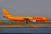 Airbus A300B4-622RF - D-AEAS operated by DHL (European Air Transport)