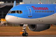 Boeing 757-200 - G-OOBG operated by Thomson Airways