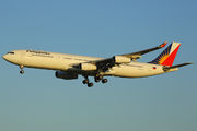 Airbus A340-313 - RP-C3436 operated by Philippine Airlines