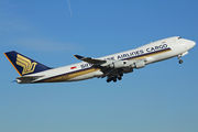 Boeing 747-400F - 9V-SFP operated by Singapore Airlines Cargo