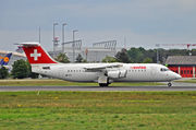 British Aerospace Avro RJ100 - HB-IYY operated by Swiss International Air Lines