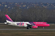Airbus A320-232 - HA-LPW operated by Wizz Air