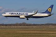 Boeing 737-800 - EI-EFG operated by Ryanair