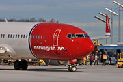 Boeing 737-800 - LN-NOB operated by Norwegian Air Shuttle