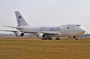 Boeing 747-400F - TF-AMQ operated by Saudi Arabian Airlines Cargo