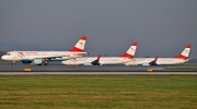 Airbus A320-214 - OE-LBR operated by Austrian Airlines