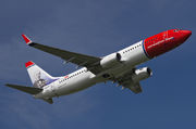 Boeing 737-800 - LN-NGP operated by Norwegian Air Shuttle