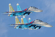 Sukhoi Su-27UB - 24 operated by Voyenno-vozdushnye sily Rossii (Russian Air Force)