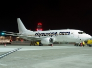 Boeing 737-500 - LY-AWG operated by SkyEurope Airlines
