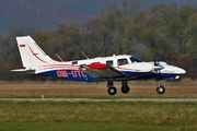Piper PA-34-220T Seneca V - OM-UTC operated by University of Žilina