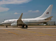 Boeing 737-700 BBJ - A36-001 operated by Royal Australian Air Force (RAAF)